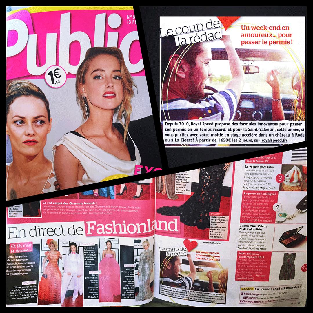 Public Magazine : Un weekend en amoureux... pour passer le permis!